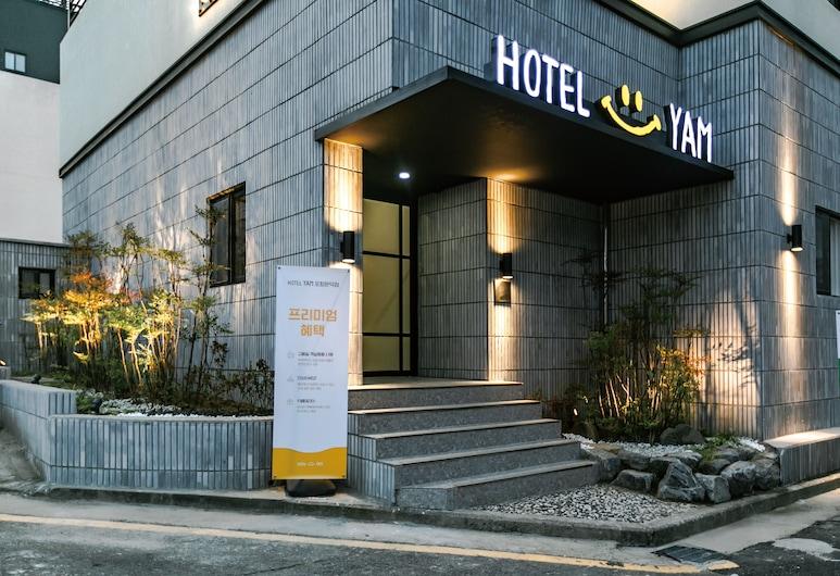 Hotel Yam Pohang Munduck, Pohang, Vchod do hotela