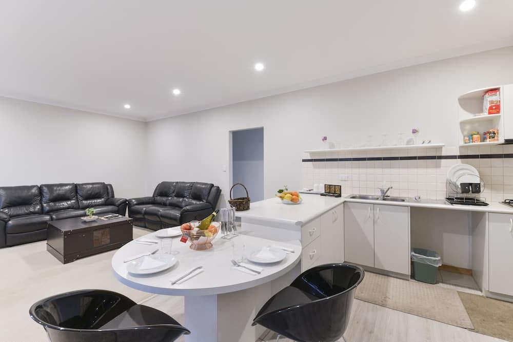 Appartement Deluxe, 3 chambres - Coin séjour