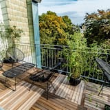 Penthouse de lujo - Terraza o patio