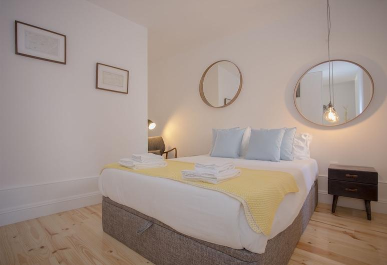 Liiiving - Clérigos Terrace Apartment, Porto, Comfort apartman, 2 spavaće sobe, Soba