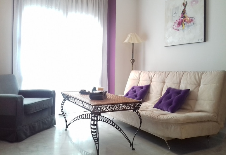 Deluxe Centre Apart with Free Parking, Córdoba, Apartment, 2 Bedrooms, Living Room
