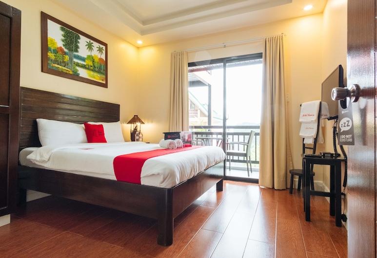 RedDoorz Premium @ Outlook Drive, Baguio, Kamar Double, Kamar Tamu