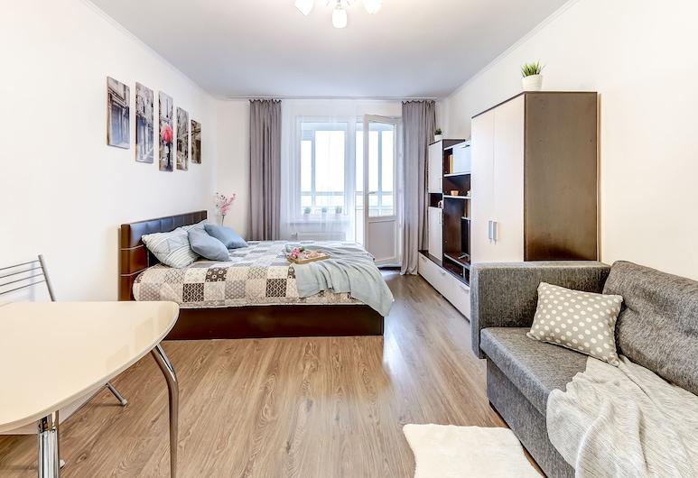Apartaments Vesta river Okhta, St. Petersburg, Living Room