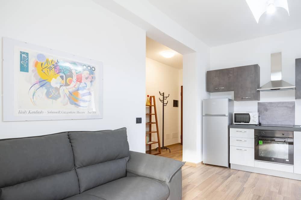 Apartamentai - Svetainės zona