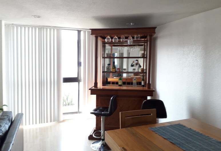 Wonderful Penthouse in Trendy Polanco, Mexiko-Stadt, Wohnbereich