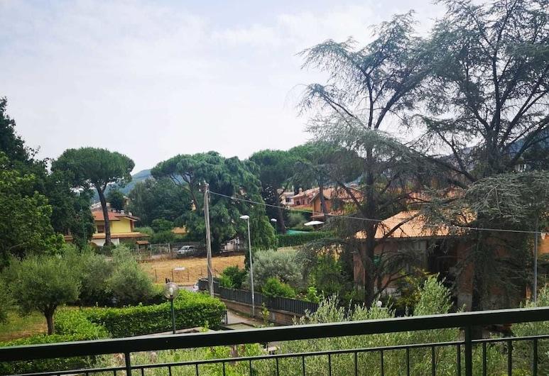 Iael's Rooms, Grottaferrata, Habitación con 2 camas individuales, baño compartido, Balcón