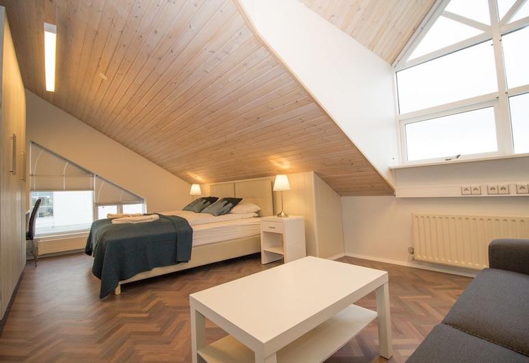Thorsplan Luxury Apartment, הפנאררפיורדור, דירה, 4 חדרי שינה, נוף לים, חדר