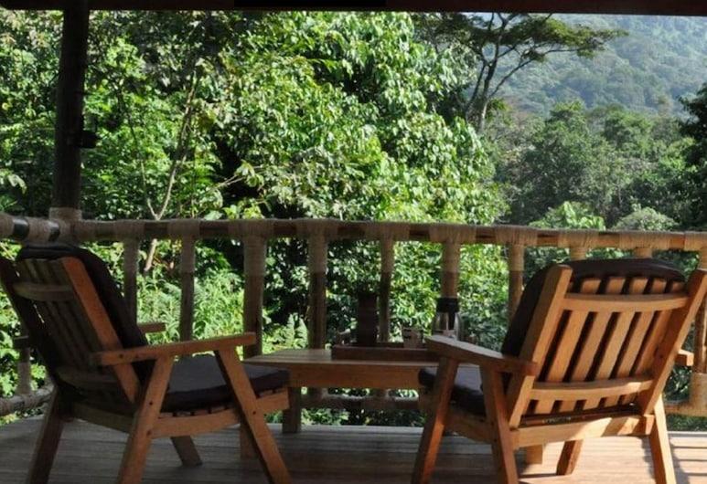 Equator Snow Geo Lodge, Kasese, Cottage (Single occupancy), Balkon