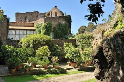 休日休暇大別荘賃貸イタリア、ラツィオ、ローマの近く、プール、エアコン、庭園、ビュー、大規模不動産、城/