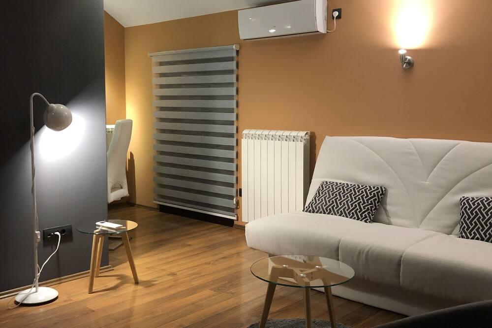 Căn hộ Exclusive, 1 giường đôi và sofa giường - Phòng