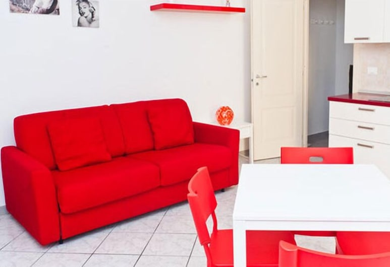 Gioberti, Turin, Apartment, 1 Bedroom, Living Area