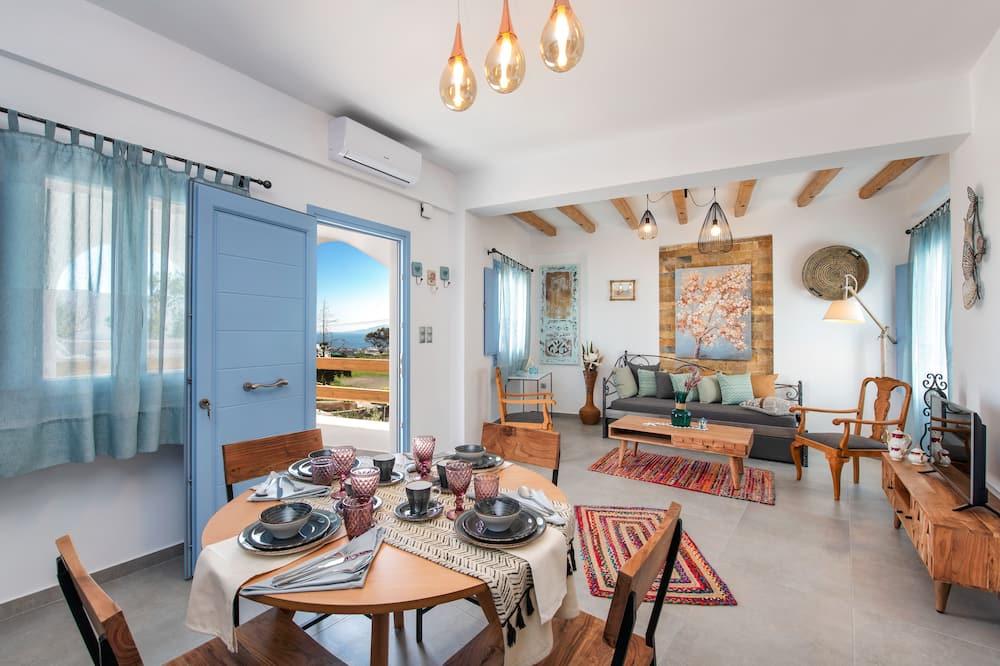 Luksus-villa - 2 soveværelser (D) - Opholdsområde