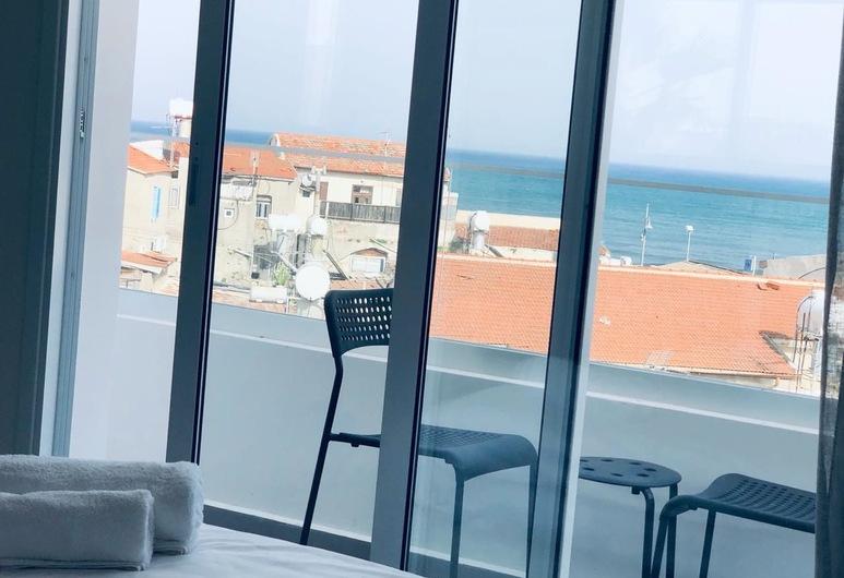 White 11, Larnaca, Studija, vaizdas į jūrą (303), Vaizdas iš svečių kambario