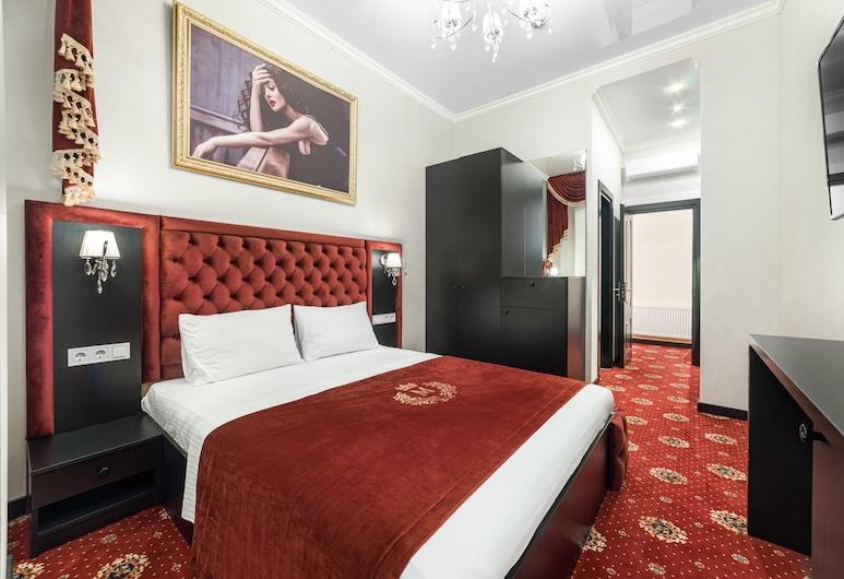 Monika Apart Hotel, Odessa, Standard Double Room, Kitchen, Room