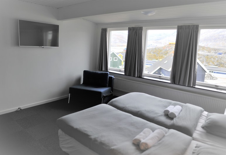 Nuuk City Hostel, Nuuk, Double Room, Shared Bathroom, Guest Room