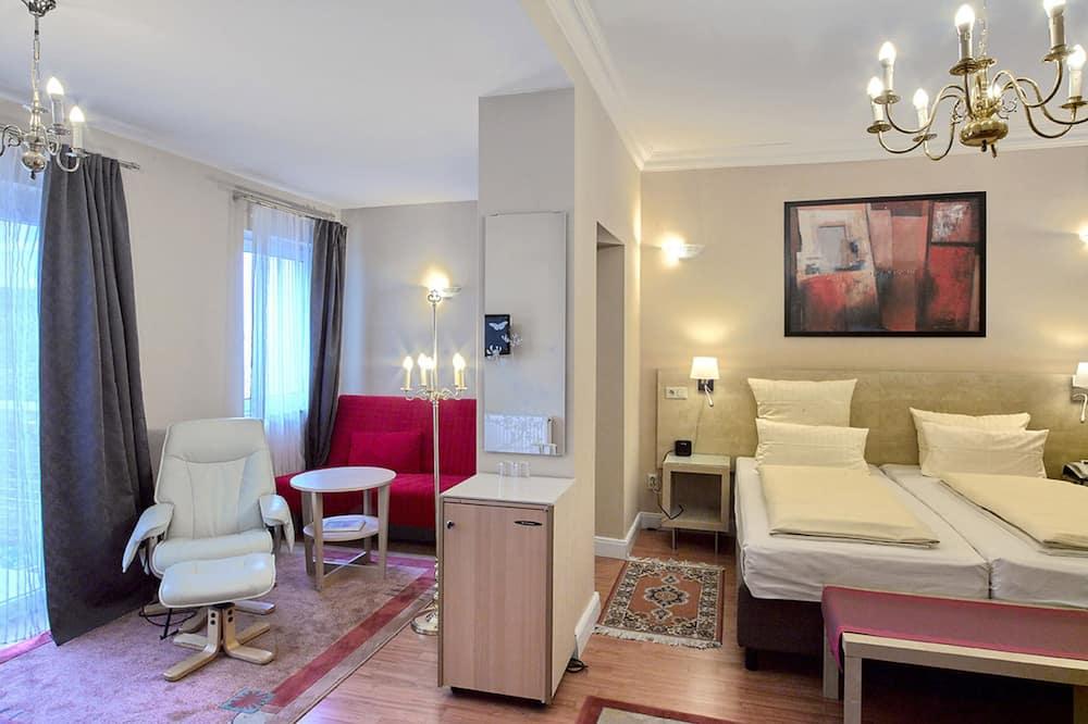 Habitación Deluxe con 1 cama doble o 2 individuales - Zona de estar