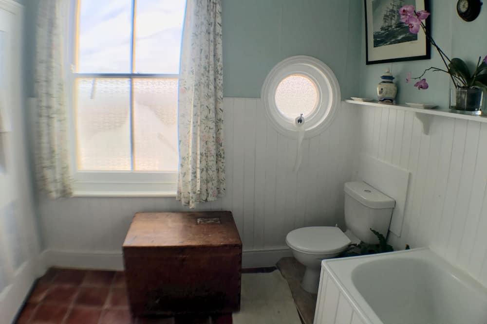 Dreibettzimmer, Meerblick - Badezimmer