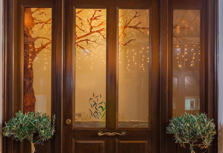 阿克羅林尼翁酒店, 約阿尼納, 酒店入口
