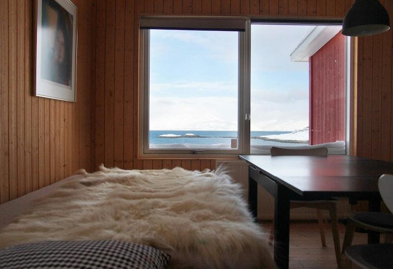 Inuk Hostels, Nuuk, Twin kamer, 4 slaapkamers, niet-roken, gemeenschappelijke badkamer, Woonruimte