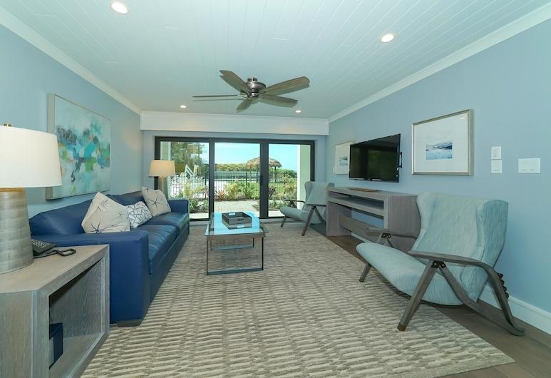 Anna Maria Beach Resort Rm 110, Holmes Beach, Suite, 1 Schlafzimmer, Wohnzimmer