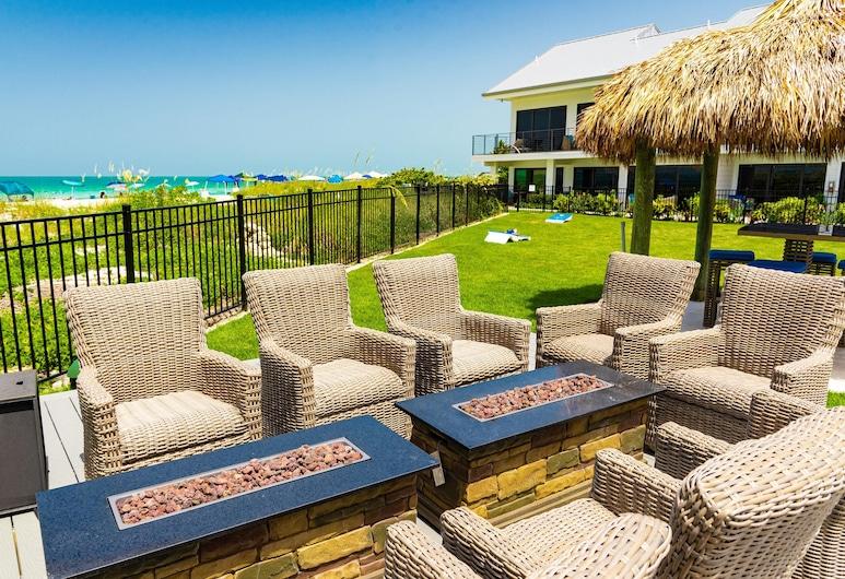 Anna Maria Beach Resort Rm 203, Holmes Beach, Luksusa numurs, viena guļamistaba, Balkons