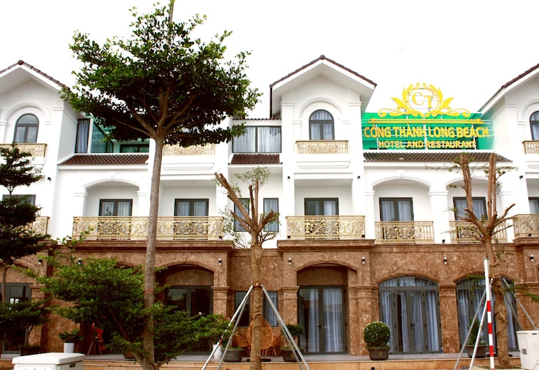 Cong Thanh Long Beach, Cam Lam, Voorkant hotel