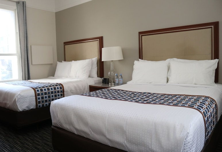 Inn at Market , San Francisco, Two Queen, Guest Room