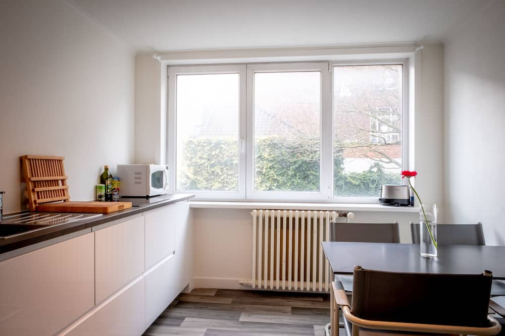 Paaugstināta komforta divvietīgs numurs (The Golden Suite) - Kopīga virtuve