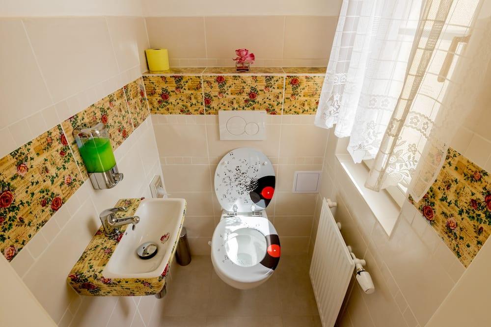 雙人房, 1 張加大雙人床, 露台 - 浴室