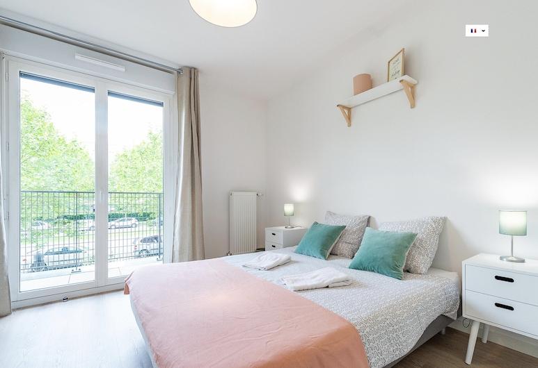 123home - City Shopping, Montevrain, Appartement, salle de bains attenante (City shopping), Chambre