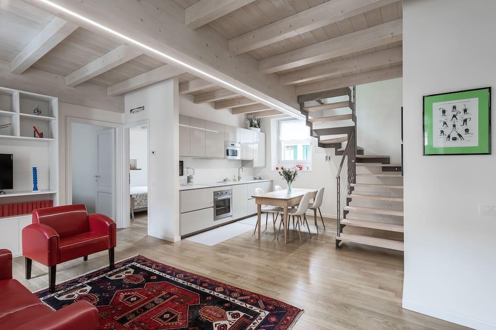 Apartman, 3 spavaće sobe - Dnevni boravak