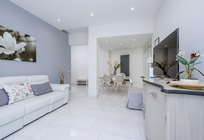 你的特拉斯維爾陽台酒店, 羅馬, 公寓, 2 間臥室, 露台, 客廳