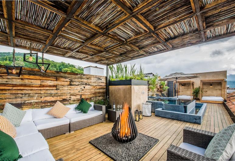 Mubu Hotel Boutique, Valle de Bravo, Terasa / vidinis kiemas