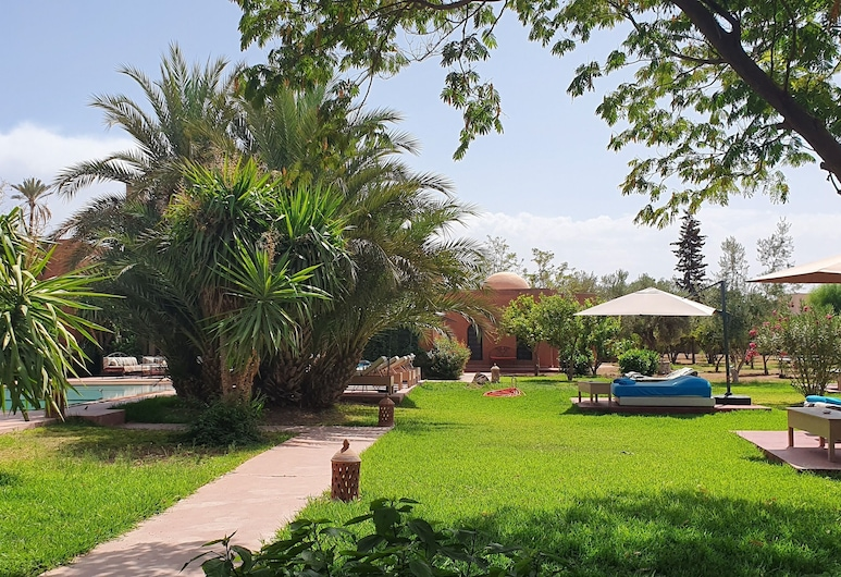 La Villa Kosy, Marrakech, Záhrada