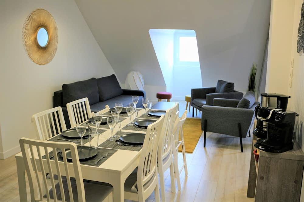City Apartment, Private Bathroom (Down) - Living Area