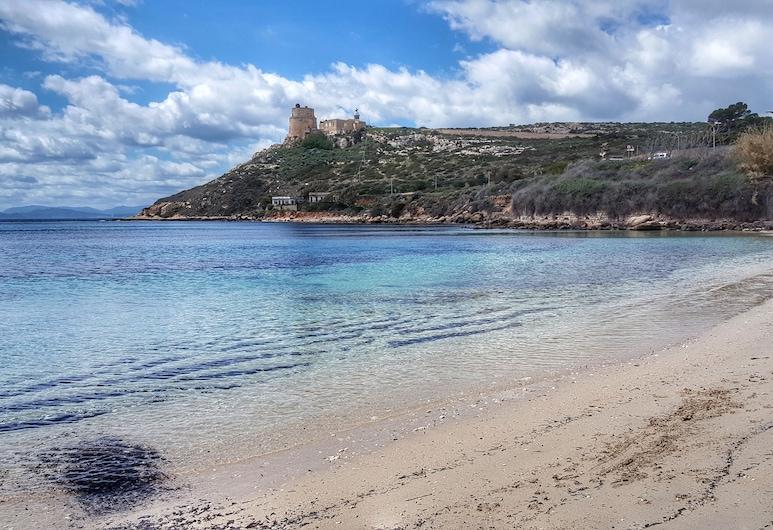Bonu Bentu, Cagliari, Spiaggia