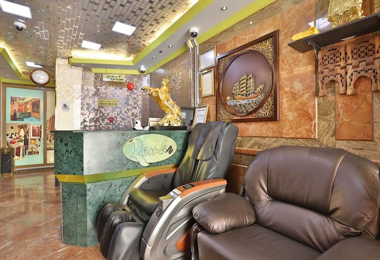 OYO 261 Remas Hotel Apartment, Dubajus, Registratūra