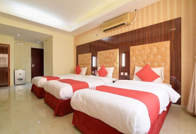 OYO 273 Burj Nahar Hotel, Dubajus, Standartinio tipo trivietis kambarys, Svečių kambarys