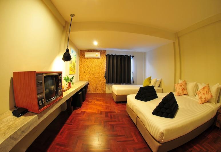 帕克平舒適住宿清邁飯店, 清邁, 家庭客房, 非吸煙房, 客房