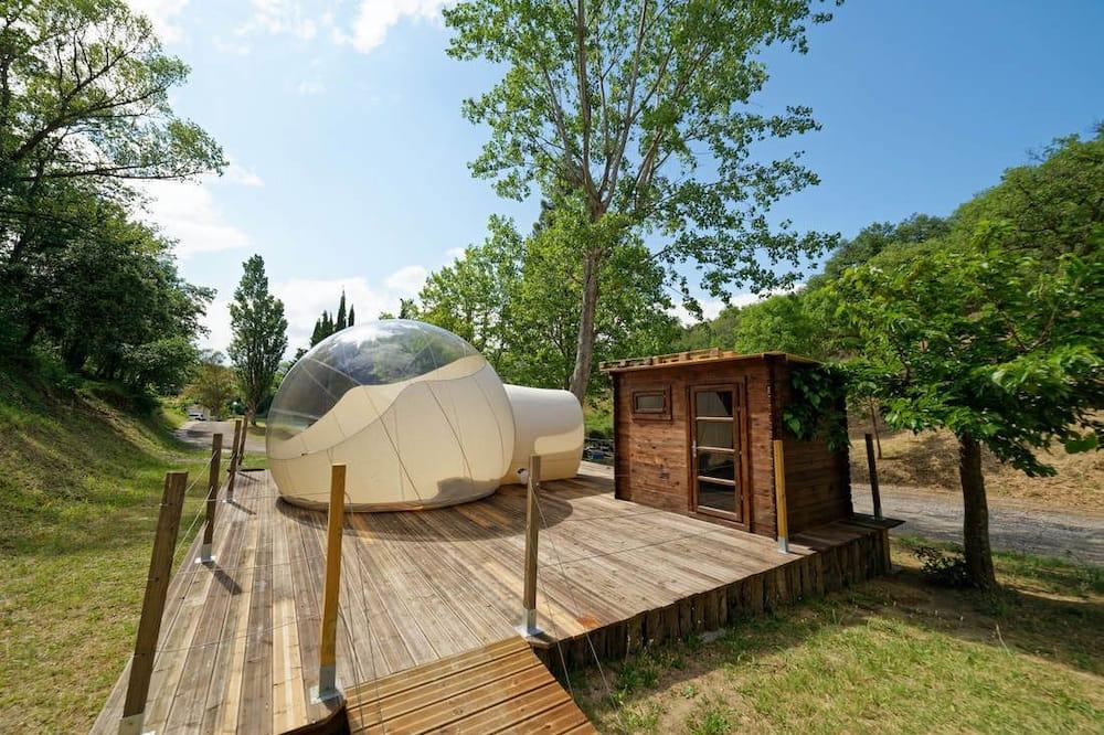 Dobbeltværelse (La Bulle Lodge) - Terrasse/patio