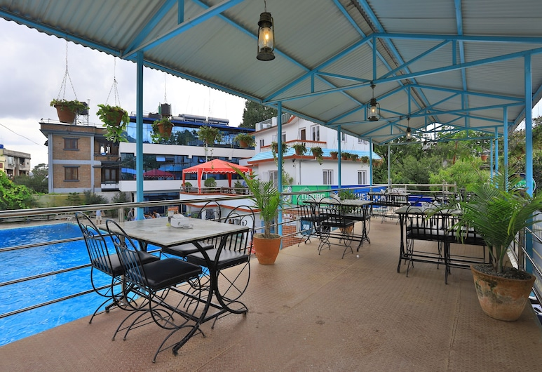 OYO 591 Hotel Blue Moon, Katmandú, Restaurante