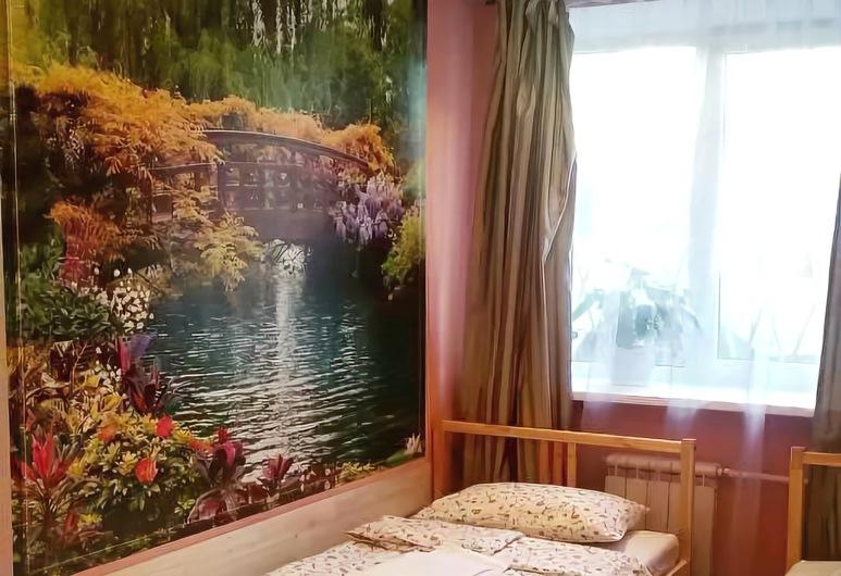 Mini-Hotel Na Beregah Nevy, Sankti Pétursborg, Economy-herbergi fyrir tvo, tvö rúm - sameiginlegt baðherbergi, Herbergi
