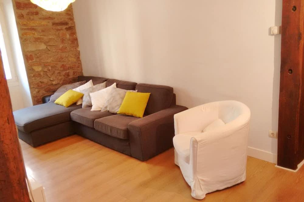 Apartman, 4 spavaće sobe, balkon - Dnevna soba