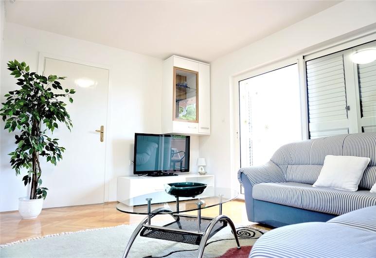 Apartments Milak, Rab, Appartement, terrasse, Coin séjour