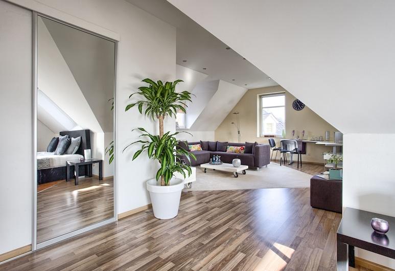 Villa Eltins,  Bad Bentheim, Habitación Deluxe (mit Whirpool), Zona de estar