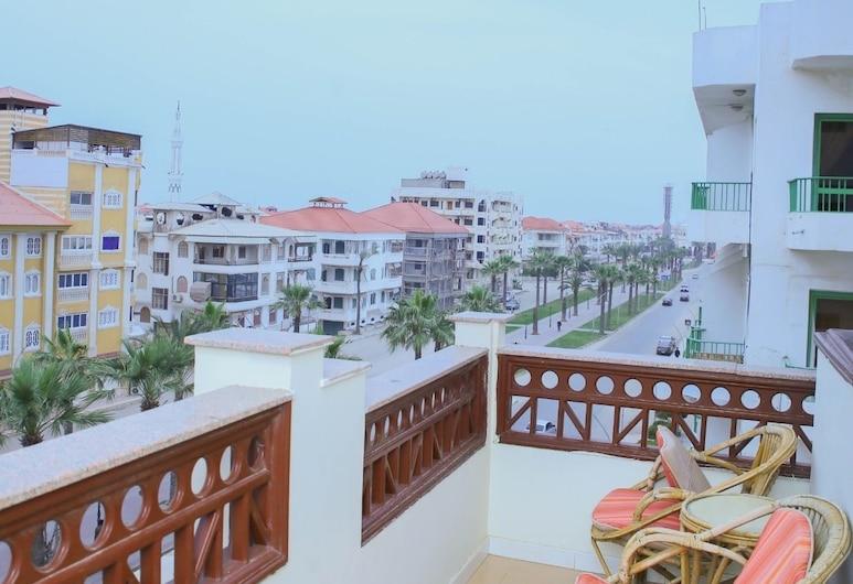 Teba Hotel in Ras Elbar, Damietta, Family sviit, Rõdu