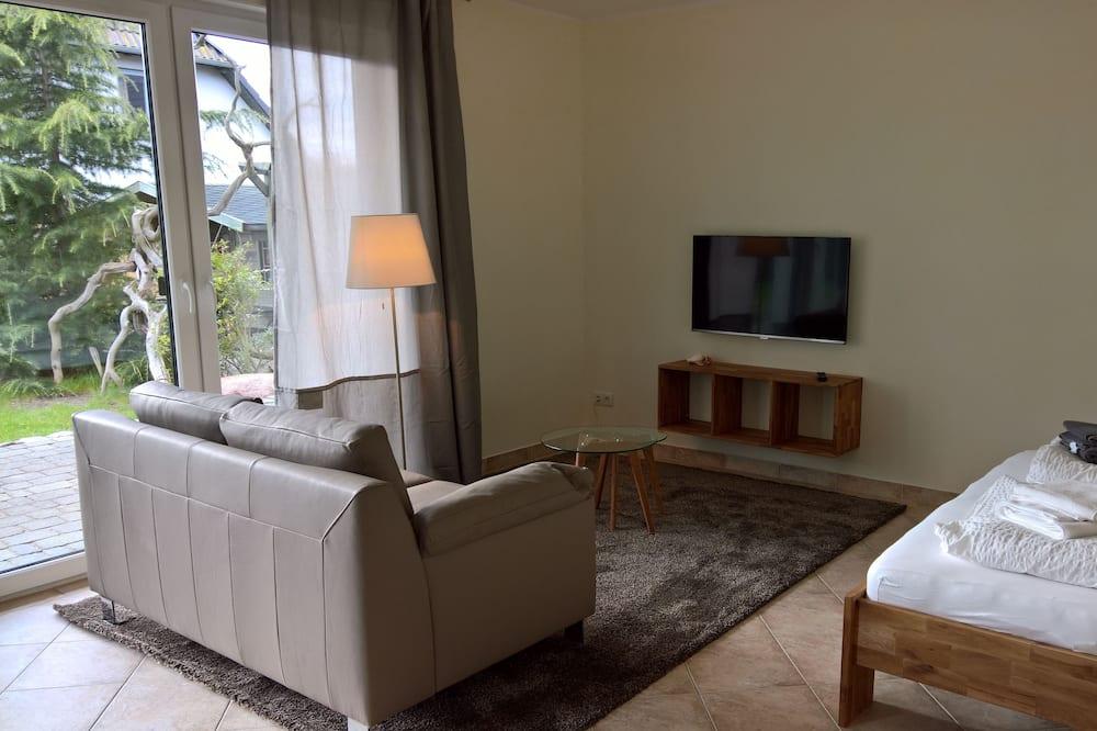 開放式客房, 庭院, 海濱 - 客廳