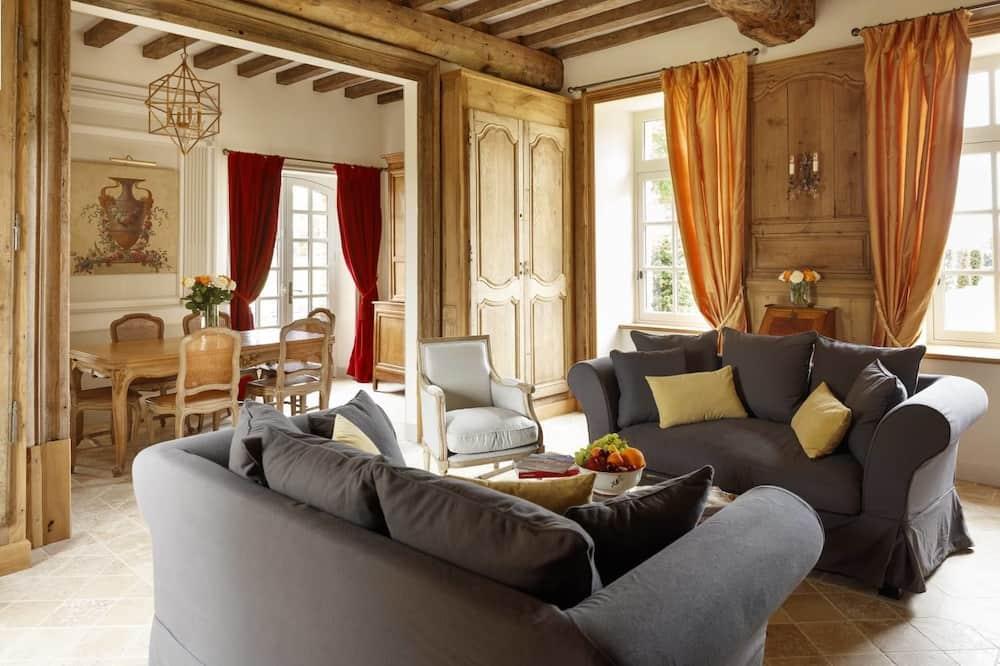 Apartament typu Premium, 2 sypialnie, widok na ogród, na parterze (Pavillon Bas) - Powierzchnia mieszkalna