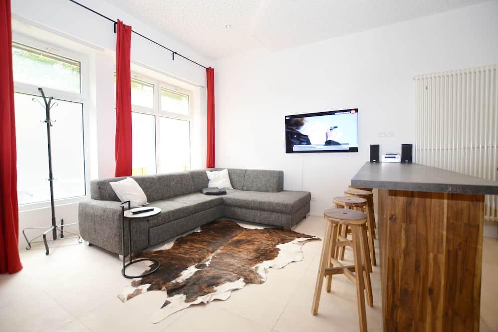 Design loft, 2 slaapkamers - Woonruimte