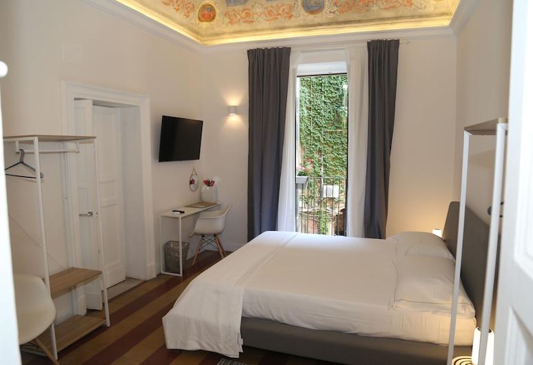 Palazzo del Verga, Catania, Doppia Comfort, balcone, vista cortile (Museo), Vista dalla camera